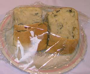 ひじきとちりめんじゃこの食パン