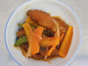 手羽先と野菜の酢煮