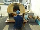 石窯によるピザと竹飯づくり体験